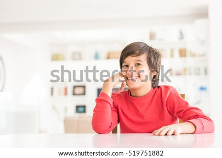 Kid at home