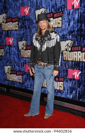 Kid Rock at the 2007 MTV Video Music Awards at the Palms resort & Casino, Las Vegas. September 10, 2007 Las Vegas, NV Picture: Paul Smith / Featureflash - stock photo