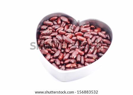 kidney beans - stock photo