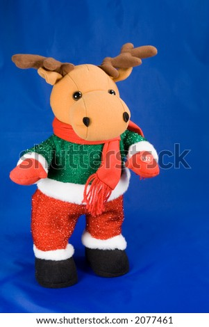 kids christmas toy reindeer
