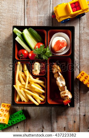 Kids Food in a Box (Bento)