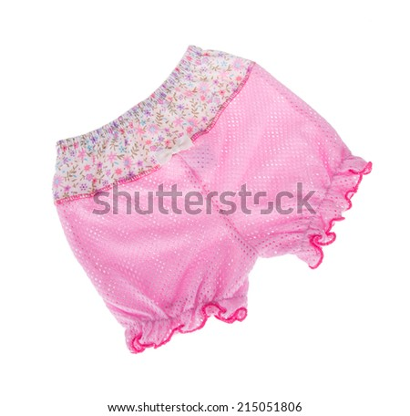 kids pants isolated on the background. - stock photo