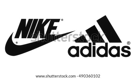 nike shoes logo pictures. kiev, ukraine - september 26, 2016: collection of popular manufactures sports shoes logos nike logo pictures e