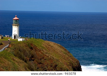 kilauea lighthouse on kauai's north coast