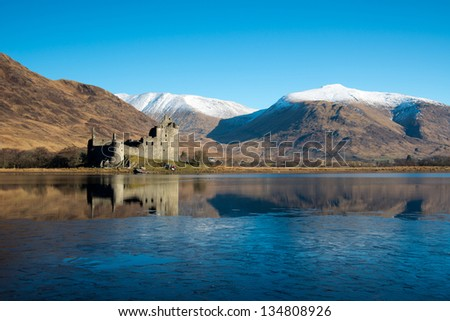 Kilchurn Castle ,Scotland - stock photo