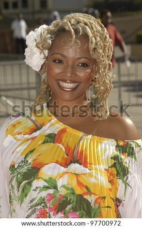 KIM FIELDS at the 9th Annual Soul Train Lady of Soul Awards in Pasadena, CA. Aug 23, 2003  Paul Smith / Featureflash - stock photo
