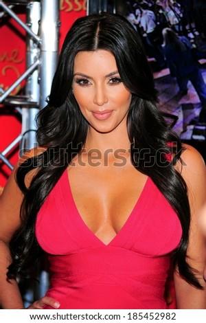 Kim Kardashian in attendance for Kim Kardashian Wax Figure Unveiling at Madame Tussauds, Madame Tussauds New York, New York, NY July 1, 2010 - stock photo