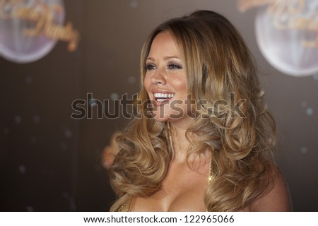 Kimberley Walsh arriving for the Strictly Come Dancing 2012 Launch, Television Centre, London. 11/09/2012 Picture by: Simon Burchell - stock photo