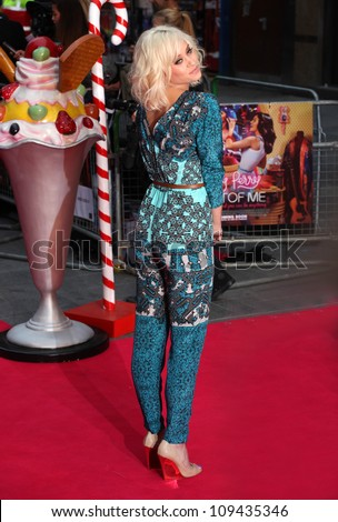 Kimberly Wyatt arriving for the 'Katy Perry, Part Of Me 3D' premiere, at Empire Leicester Square, London. 03/07/2012 Picture by: Alexandra Glen / Featureflash
