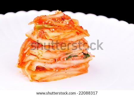 kimchi - stock photo