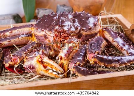 King crab - stock photo