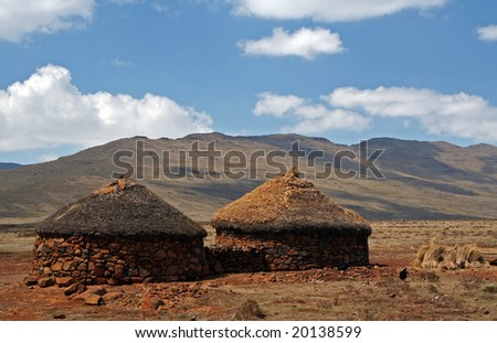Kingdom of South Africa, southern Africa - stock photo
