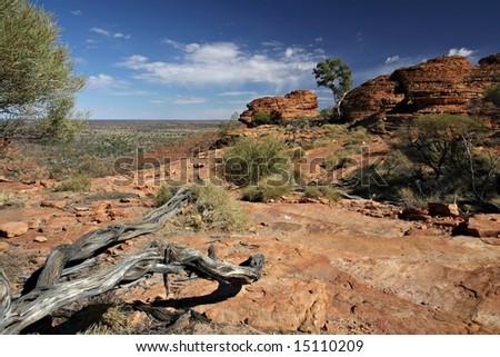 Kings Canyon, NT Australia - stock photo