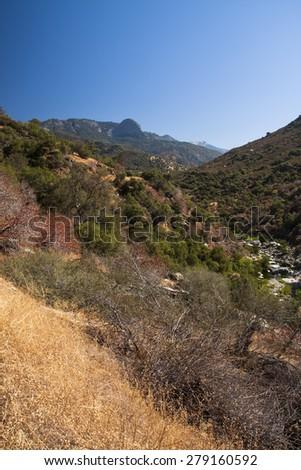Kings canyon - Sierra Nevada - stock photo