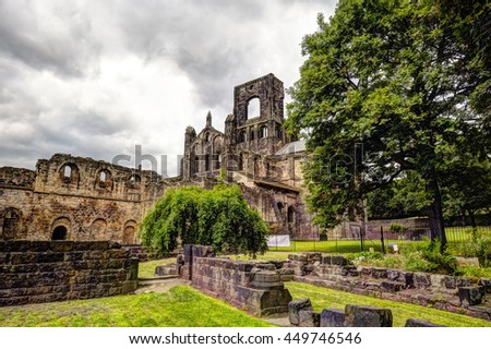 Kirkstall Abbey near Leeds.