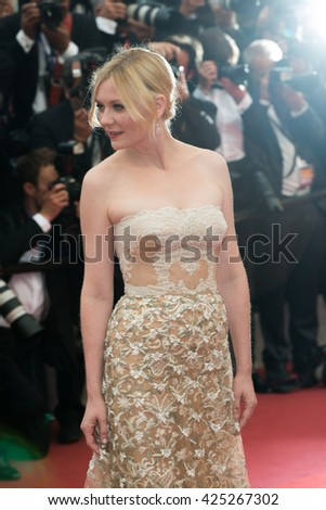Kirsten Dunst at the Palme D'Or Winner Red Carpet at the 69th Festival de Cannes. May 22, 2016  Cannes, France