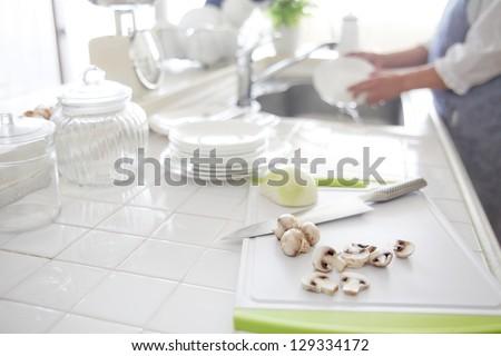 kitchen, - stock photo