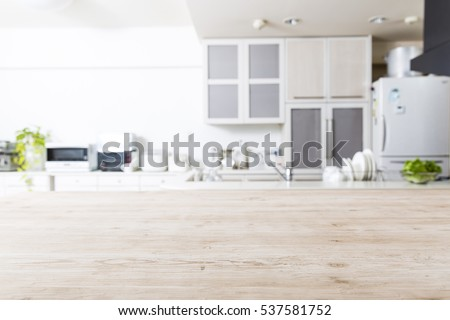 Kitchen, background