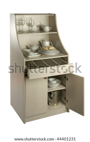 Kitchen case - stock photo