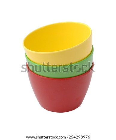 kitchen cups - stock photo