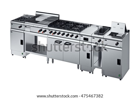 Modern Kitchen Equipment kitchen equipment stock images, royalty-free images & vectors