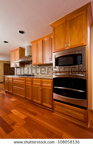Kitchen interior. - stock photo