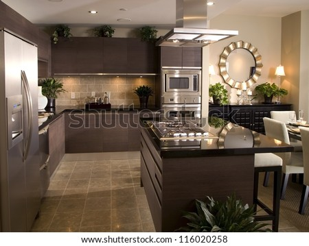 Kitchen Interior Design Architecture Stock Images,Photos Of Living Room,  Bathroom,Kitchen,