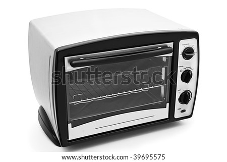 Kitchen oven isolated on white background - stock photo