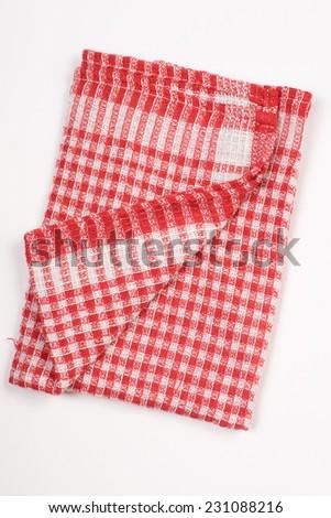 Kitchen stuff cloth - stock photo