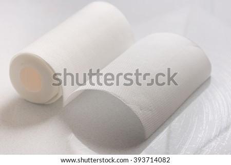 Kitchen towel - stock photo