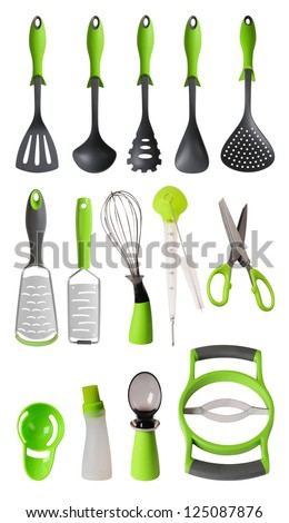 Kitchen utensils. - stock photo