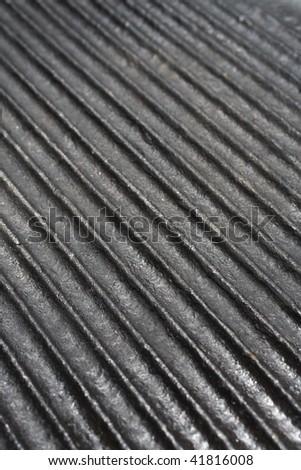 Kitchen utensils - Cast Iron Black Skillet - stock photo