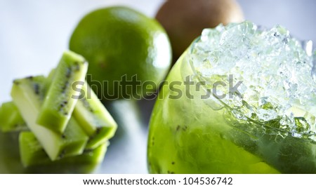 Kiwi Mojito - stock photo
