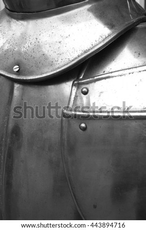 knight's armor - stock photo
