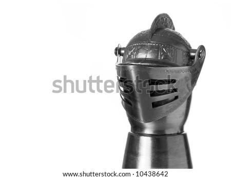 Knights Helmet - stock photo
