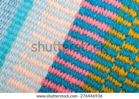 Knitted Pattern Crafting Texture