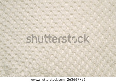 knitted woolen shawl - stock photo