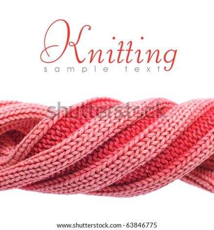 knitting - stock photo