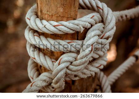 Knot in rope