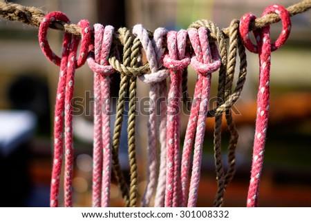 Knots - stock photo