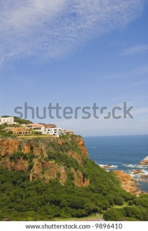 Knysna Heads is a most exclusive Suburb to live in - stock photo