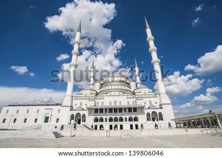 Kocatepe Mosque - stock photo