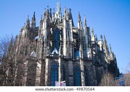 Koelner Dom (Cologne Cathedral) in Koelne, Germany - stock photo