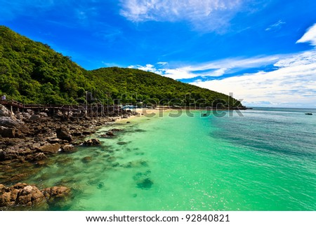 Koh chang beach Thailand - stock photo