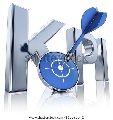 KOI icon - stock photo