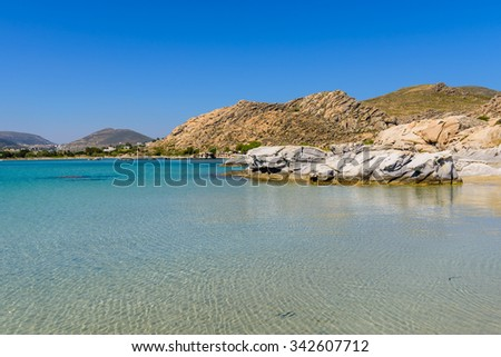 Kolymbithres beach, Paros island, Cyclades, Greece.