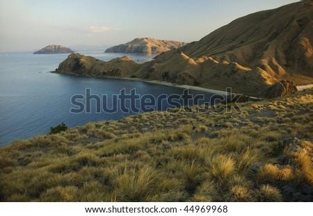 Komodo Islands. Indonesia - stock photo