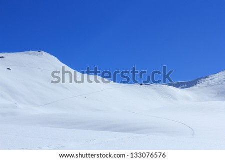 Koralpe Austria/Winter in the Mountains/