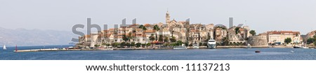 Korcula - stock photo