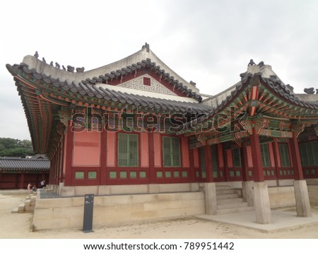 Korean ancient palace